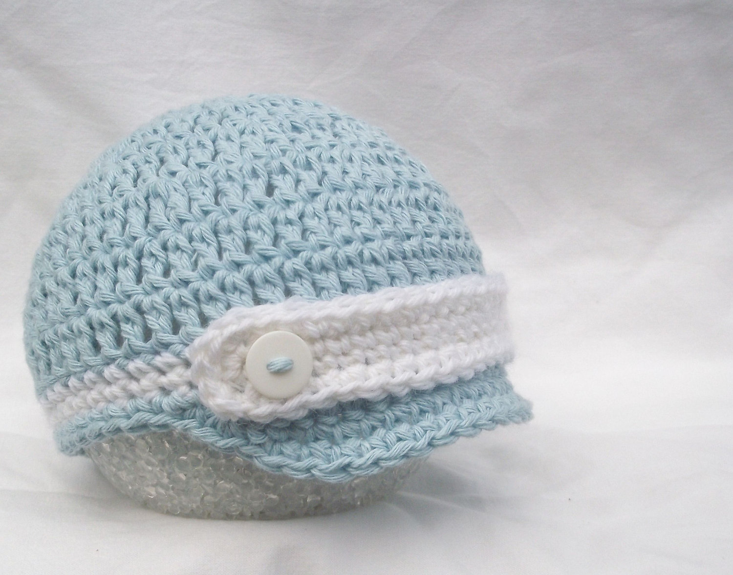 Baby Hat - Crochet Baby Hat - Newborn Baby Hat- Crochet Baby Boy Hat -  Photo Prop - Baby Beanie - B on Luulla 74d1482d1